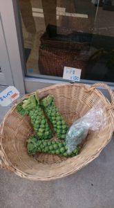 中野区中野福祉作業所店頭野菜販売
